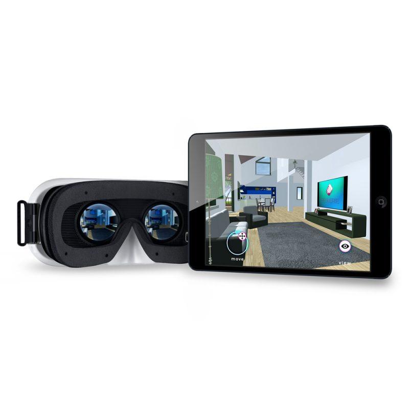 REGIVERSE può essere utilizzata sia tramite visore per la Realtà Virtuale, che tramite controller touch sullo schermo