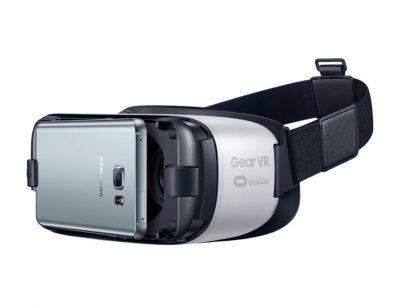 Realtà Virtuale per Smartphone mediante telefono Samsung inserito all'intenro di un Gear VR