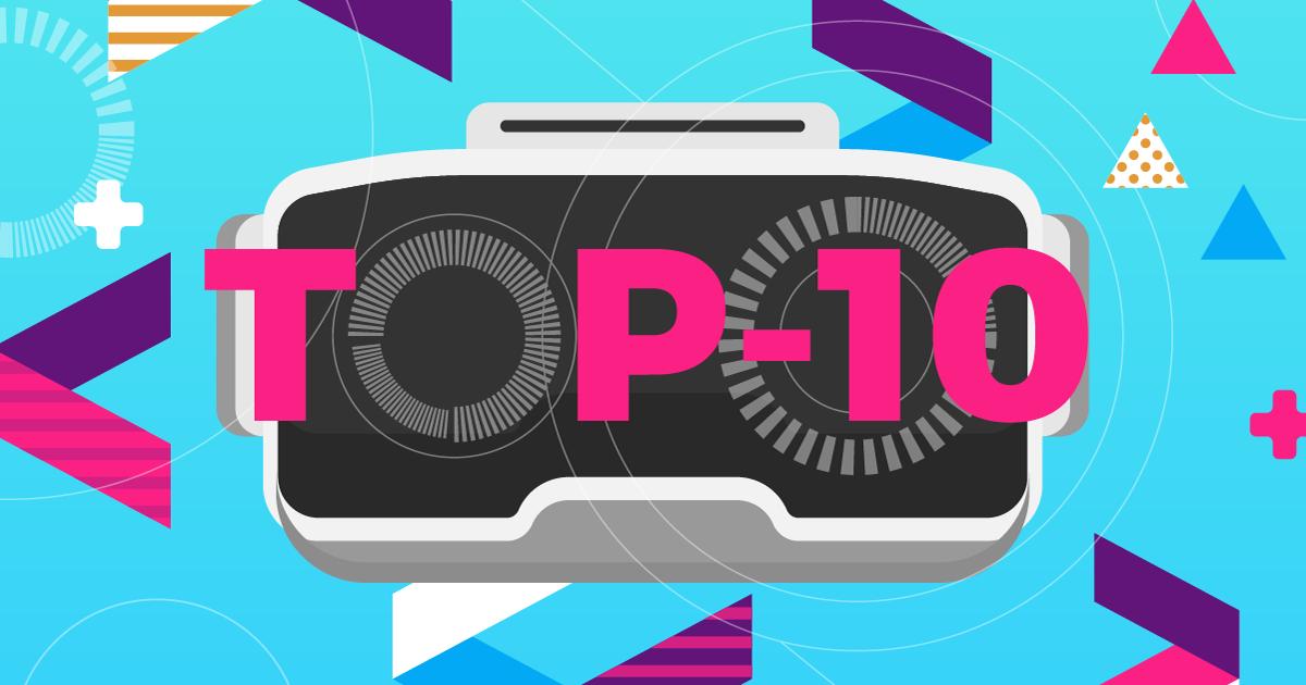 Locandina top-10 visori vr