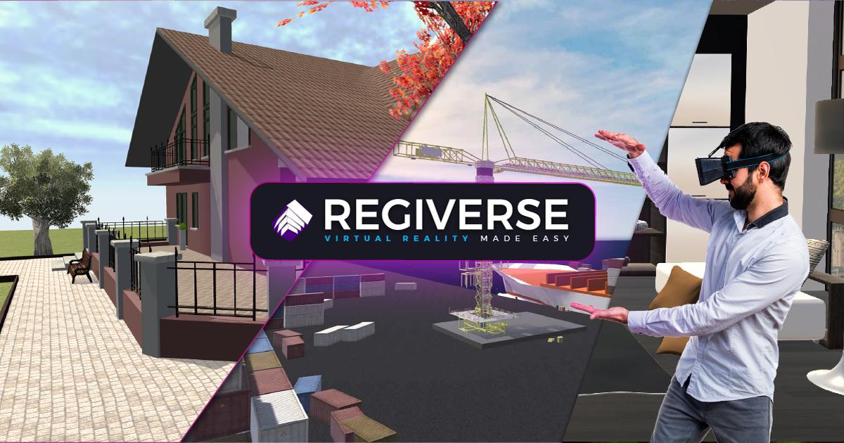 REGIVERSE la piattaforma che ti consente di caricare i tuoi progetti 3D e presentarli con la Realtà Virtuale, in modo facile, economico e innovativo!